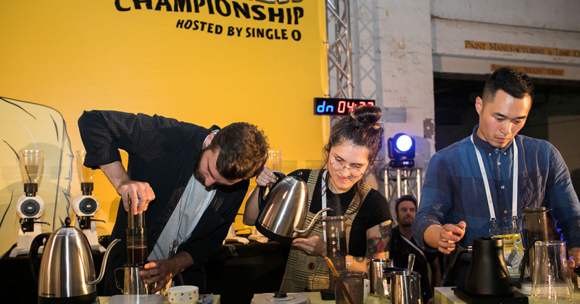 World AeroPress Championship London
