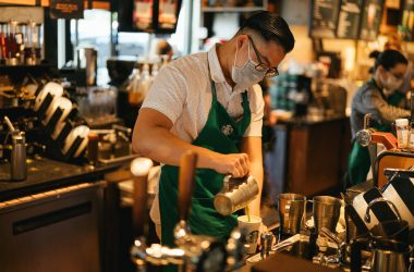 Starbucks revenue down