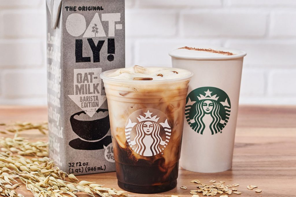 starbucks oat milk