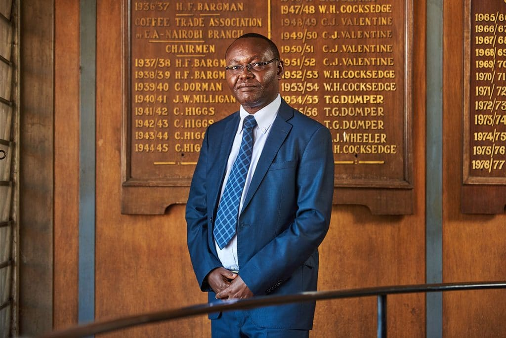 Nairobi Coffee Exchange CEO Daniel Mbithi