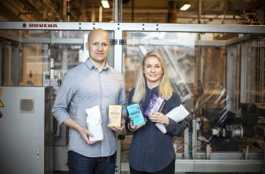 Löfbergs recyclable coffee packaging